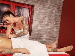 Best Vday Erotic Massage Surprise with hot oil with WetKelly Thumb