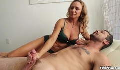 New Mature MILF Finishes the Job - FinishHim Thumb